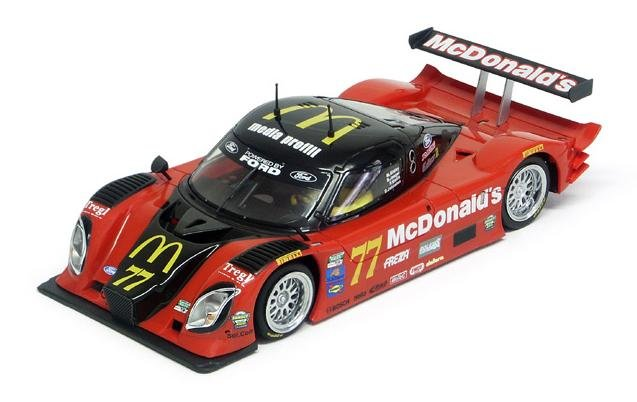 Racer Sideways Dallara DP McDonald's 1/32 Slot Car SW09