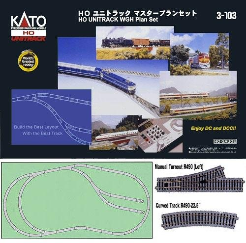 Image 0 of KATO UNITRACK HO  WGH Track Set #3-103