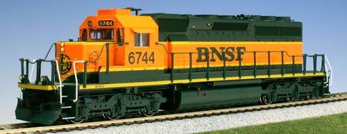 KATO HO EMD SD40-2 Mid Burlington Northern Santa Fe 6744