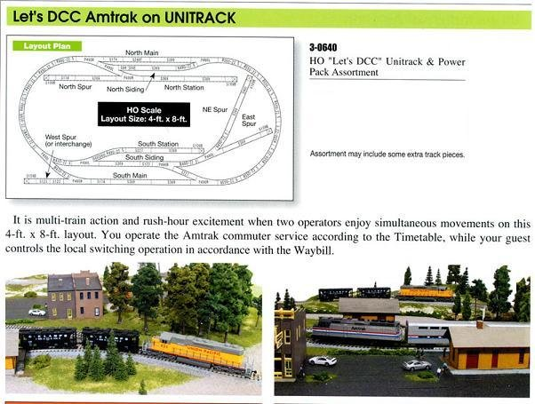 KATO UNITRACK HO Let's DCC Track Set 3-0640