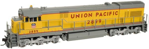 Atlas HO Gold Series U30C Phase 3 Locomotive Union Pacific 2899