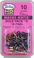 Kadee HO  # 5 Metal Couplers Bulk Pack (20)