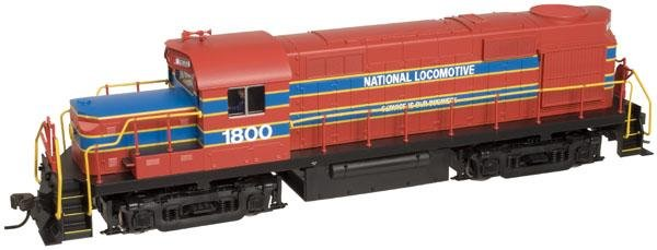 Atlas HO TRAINMAN RS-36 Locomotive National Locomotive Company 1800