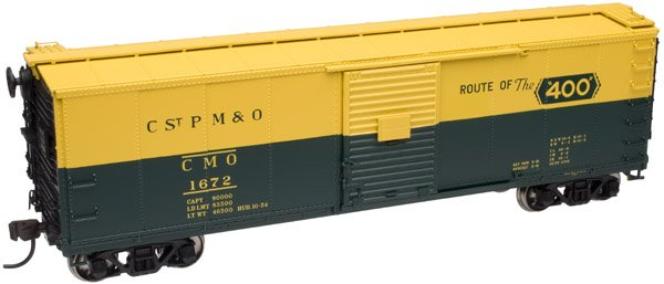 Atlas HO USRA Steel Rebuilt Box Car Chicago & North Western 1672