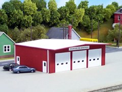 Pikestuff HO Fire Station #541-0192