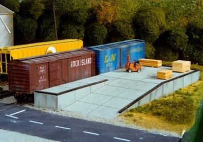 Pikestuff HO Modular Loading Docks #541-0017