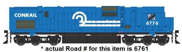 Bowser HO ALCo Century C-630 Conrail 6761 - MINOR DAMAGE