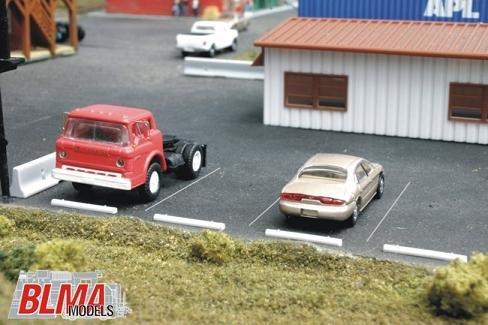 BLMA Concrete Automobile Car Stops HO Scale 4108