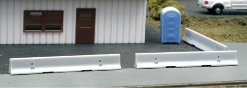 BLMA Concrete K-rail Barriers HO Scale 4107