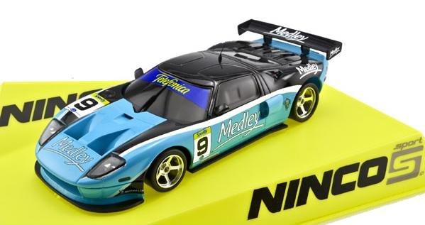 NINCO LIGHTNING Ford GT MEDLEY 1/32 Slot Car 50533