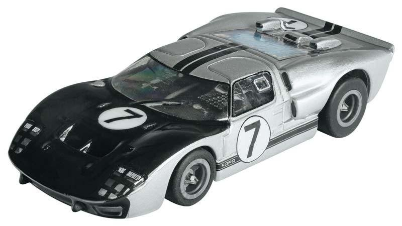 AFX Mega-G Ford GT40 Hill HO Slot Car - CLEAR 70317