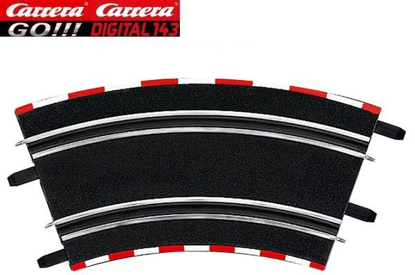 Carrera GO/DIGITAL 143 2/45° High Banked Curves (4) 61646