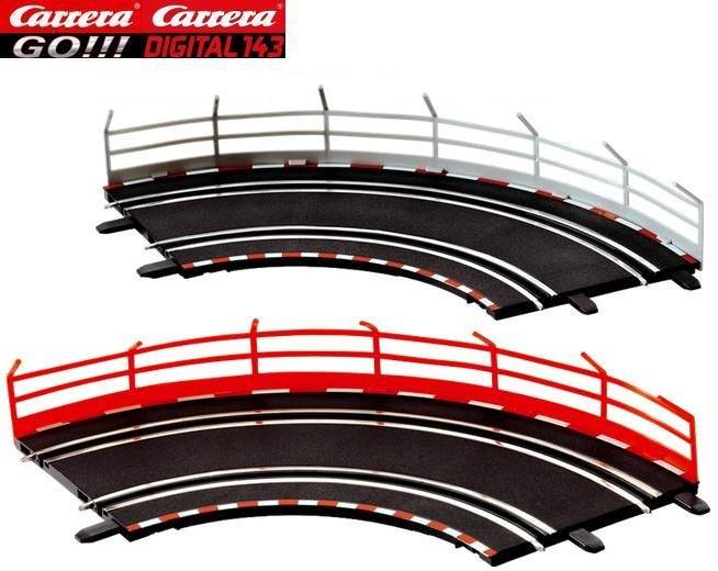 Carrera GO 1/90° Curves (2) 61603