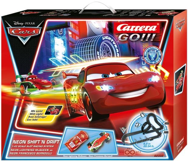 Carrera GO Cars Neon Shift 'n Drift 1/43 Race Set 62332