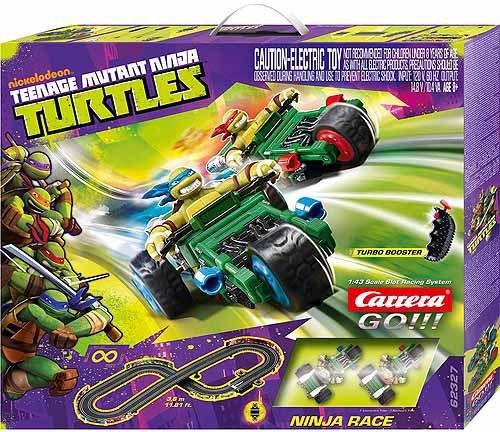 Carrera GO Teenage Mutant Ninja Turtles Ninja Race 1/43 Race Set