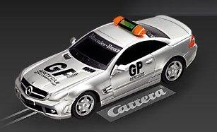 Carrera GO AMG Mercedes SL 63 Safety Car 1/43 Slot Car 61180
