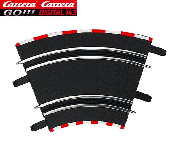 Carrera GO/DIGITAL 143 1/45° High Banked Curves (4) 61612