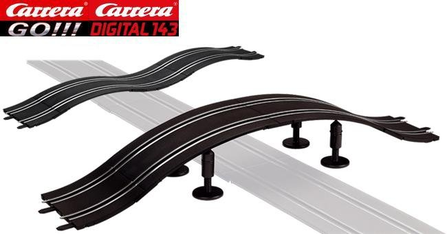 carrera go digital 143 hump track bridge 61649. Black Bedroom Furniture Sets. Home Design Ideas