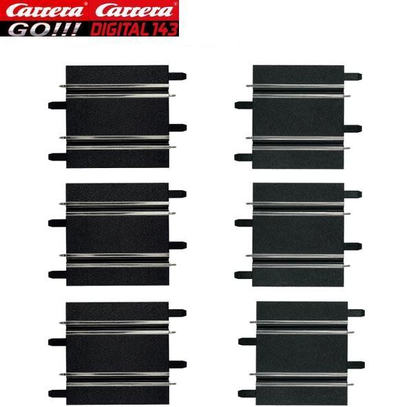 Carrera GO/DIGITAL 143 100 & 114 mm Straight Track (6) 61658