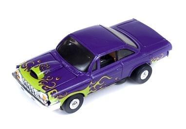 Auto World Thunderjet Ultra-G '62 Chevy Bel Air HO Slot Car - Purple