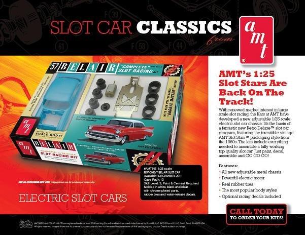 AMT 1957 Chevy Bel Air 1/25 Slot Car Kit