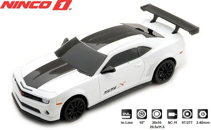 Image 0 of NINCO 1 Camaro SSX 1/32 Slot Car 55034