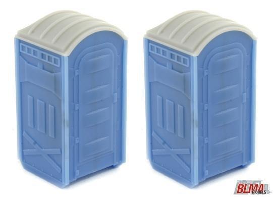BLMA Portable Toilets HO Scale 4111