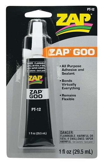 Pacer #PT-12 ZAP GOO - 1 oz tube
