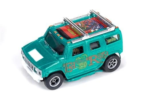 Auto World X-Traction Ultra-G Hummer H2 - Metallic Green