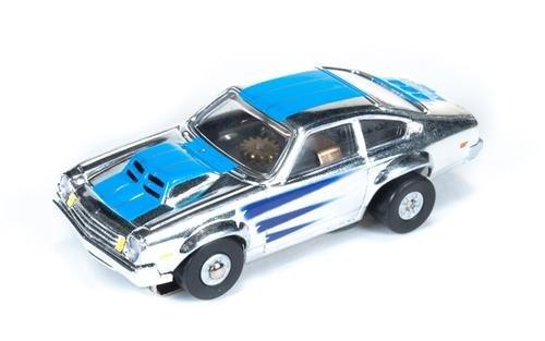 Auto World ThunderJet Ultra-G 1974 Chevrolet Vega HO Slot Car - Chrome