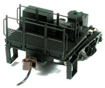 Bowser HO Coupler Mate Transition Rail Bogie w/ Railings & Steps 40300