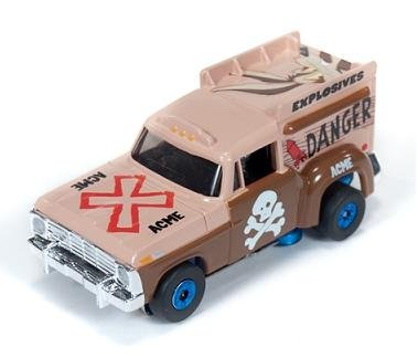 Auto World ThunderJet Ultra-G 1967 Ford Ice Cream Truck - Blue Wheels