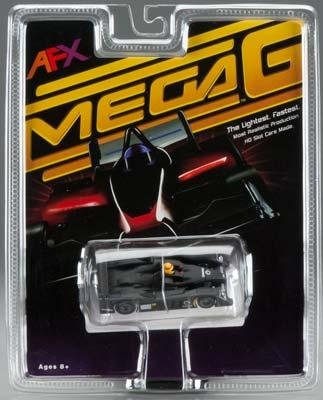 AFX Mega-G Audi R10 Test Black HO Slot Car #70303
