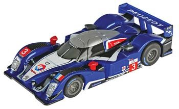 AFX Mega-G Peugeot 908 SPA HO Slot Car 70338