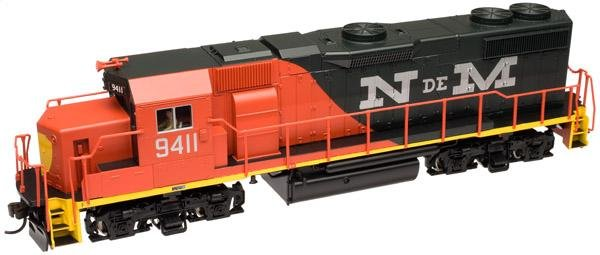 Atlas HO TRAINMAN GP38-2 Locomotive N de M 9411