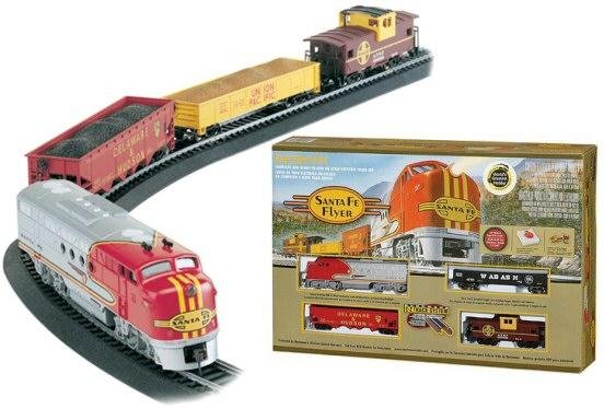 Bachmann  Santa Fe Flyer HO Train Set