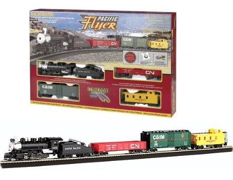 Bachmann  Pacific Flyer HO Train Set 692