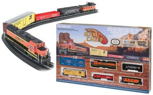Bachmann  Rail Chief HO Train Set 706