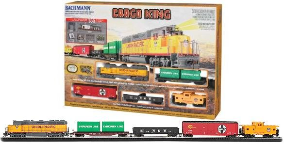 Bachmann  Cargo King HO Train Set 680