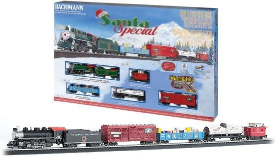 Bachmann  Santa Special HO Train Set