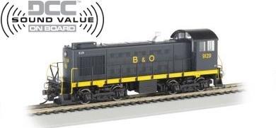 Bachmann HO ALCO S-2 Switcher Locomotive B&O 9129