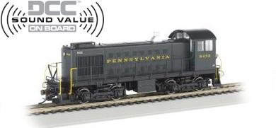 Bachmann HO ALCO S-2 Switcher Locomotive Pennsylvania 8432