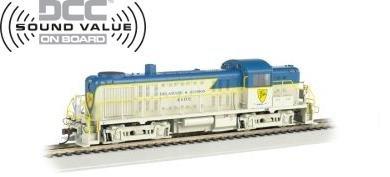 Bachmann HO ALCO RS-3 Locomotive Delaware & Hudson 4103
