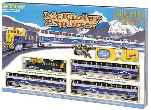 Bachmann  McKinley Explorer HO Train Set