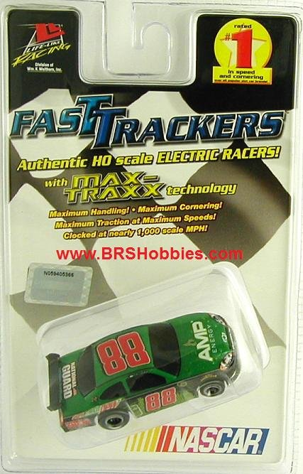 Life Like Fast Tracker Chevy Impala Dale Earnhardt Jr AMP HO Slot Car