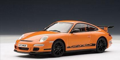 AUTOArt Porsche 997 GT3 RS 1:32 Slot Car - Orange 13211