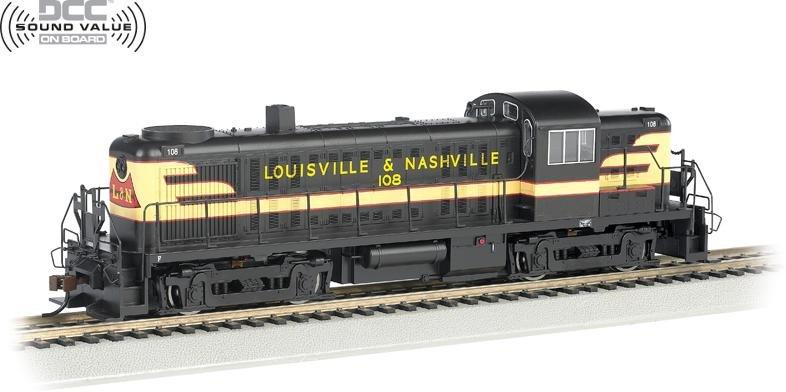 Bachmann HO ALCO RS-3 Locomotive L&N 108