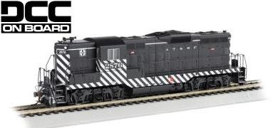 Bachmann HO EMD GP9 Diesel Locomotive Santa Fe 2876