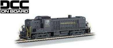 Bachmann HO ALCO RS-3 Locomotive Pennsylvania 8604