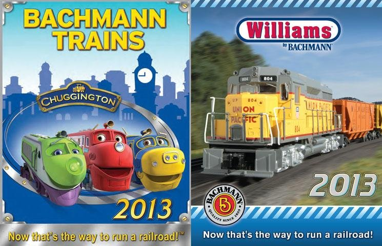 Bachmann Trains & Williams 2013 Catalog